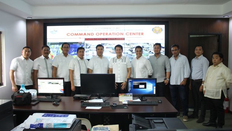 Bagong Command Operation Center ng Imus, Bukas na!