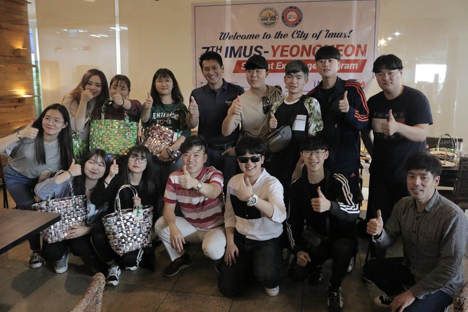 Ika-7 Imus-Yeoncheon Student Exchange Program, Idinaos sa Lungsod