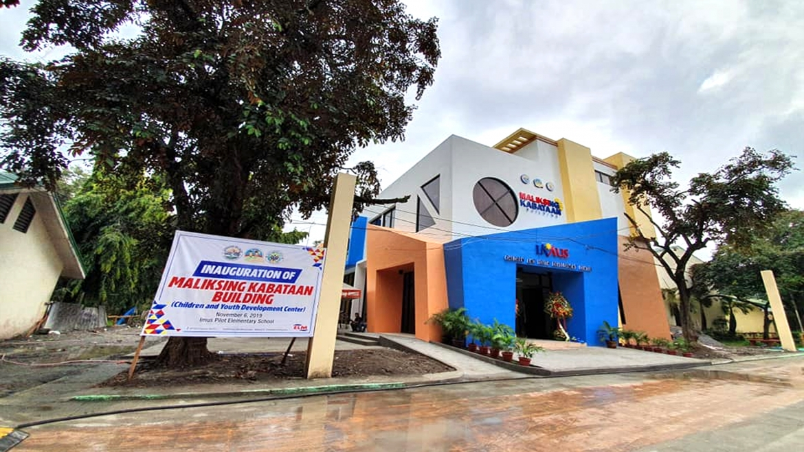 Kauna-unahang Children and Youth Development Center sa Imus, Pinasinayaan